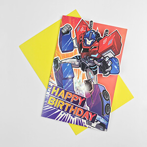 HAS18652 OPTIMUS PRIME PREMIUM CARD