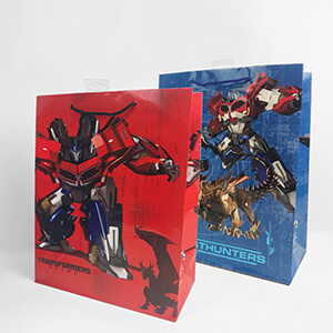 Large Gift Bags E2936 Transformers