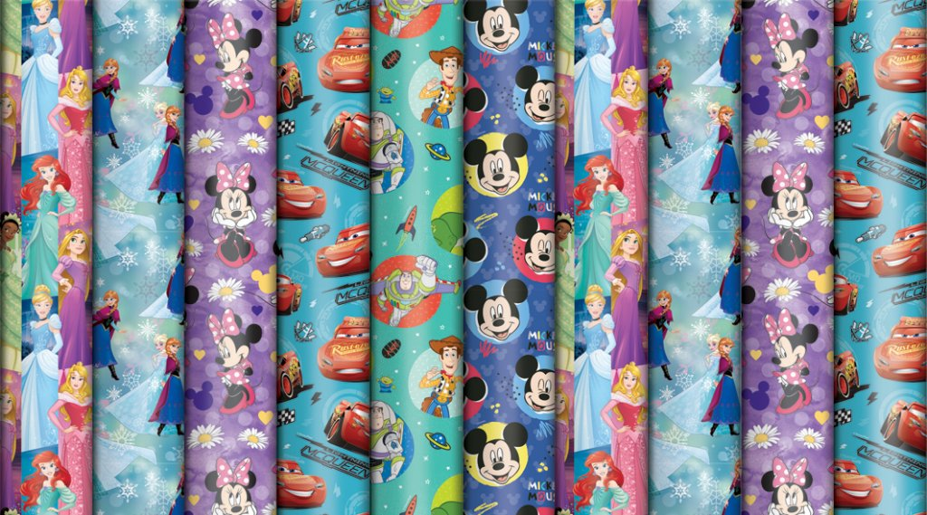 DIS028 DISNEY ALL ROLL WRAP