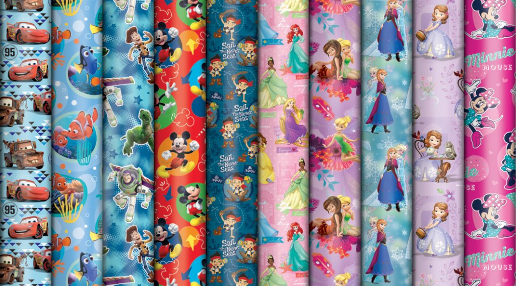 DIS029 DISNEY ROLL WRAP