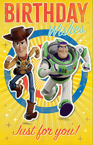 DIS34513-Z TOY STORY WODDY BUZZ BDAY