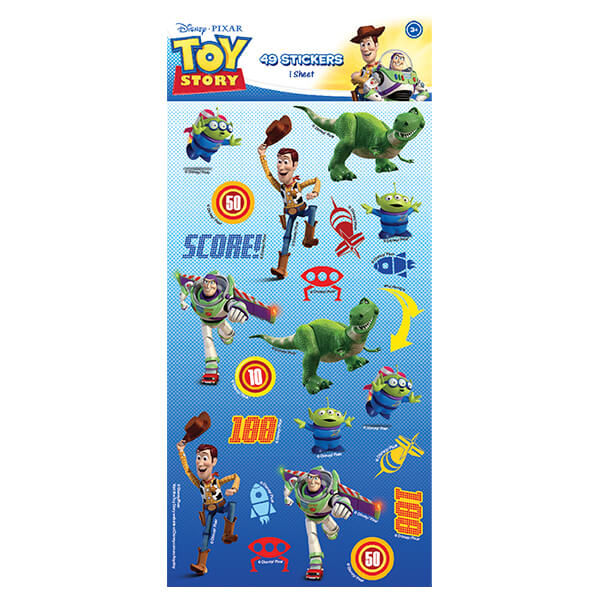 WEB5241-Z TOY STORY STICKERS