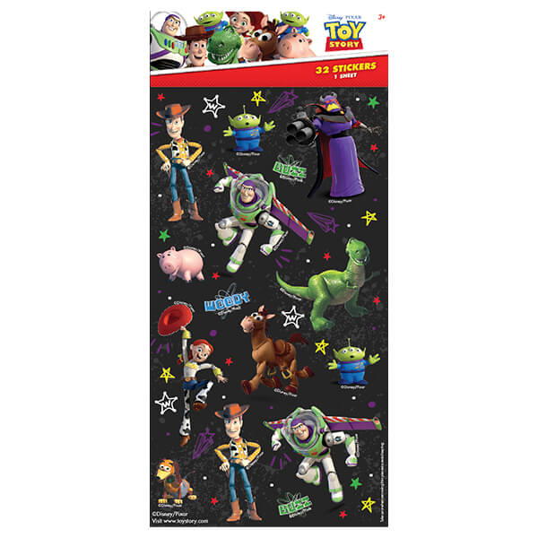 WEB5382-Z TOY STORY STICKERS