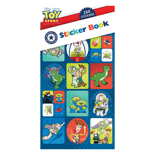 WEB5831 TOY STORY STICKER BOOK