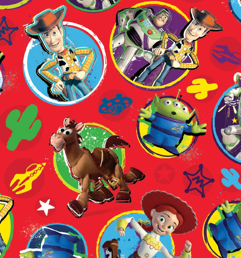 WEW543 DISNEY TOY STORY FLAT WRAP