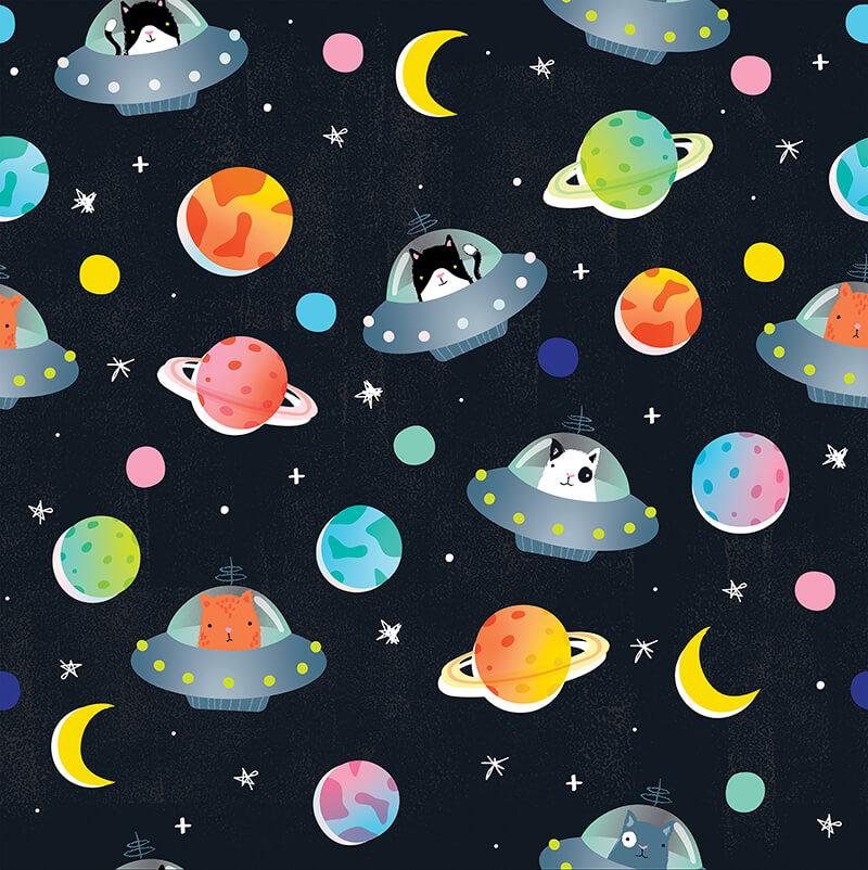 A NAIVE UFO CATS WRAP