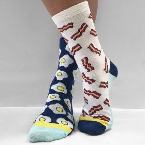 SOCKS Bacon and Eggs