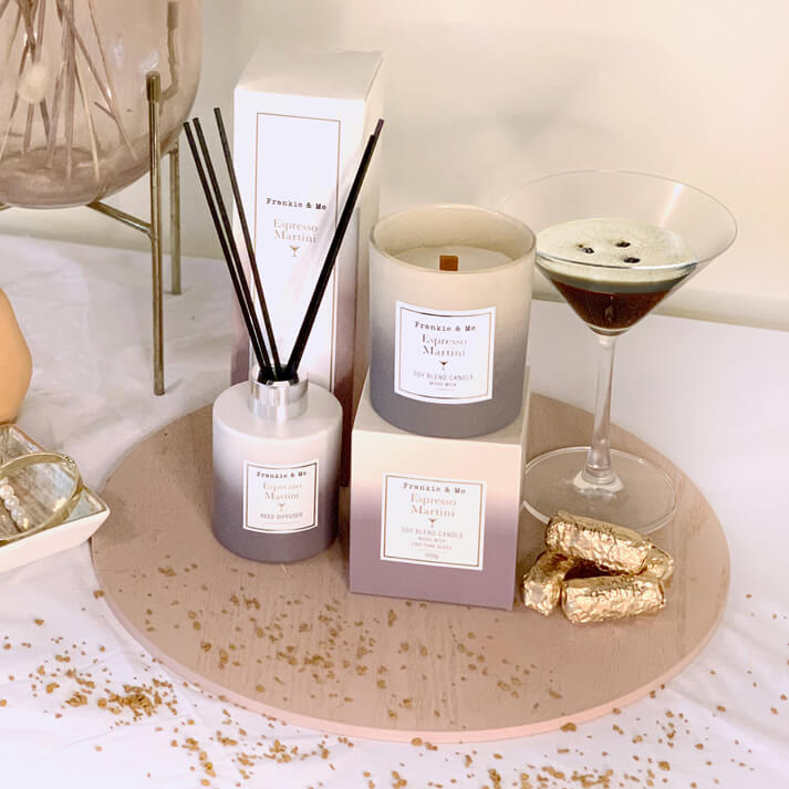 Expresso Martini Candles and Diffuser